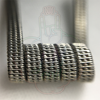 Triple Staggered Clapton Coil