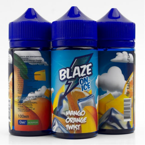 BLAZE ON ICE Mango Orange Twist 100ml-E-JUICE-Vaporello.com