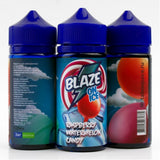 BLAZE ON ICE Raspberry Watermelon Candy 100ml-E-JUICE-Vaporello.com