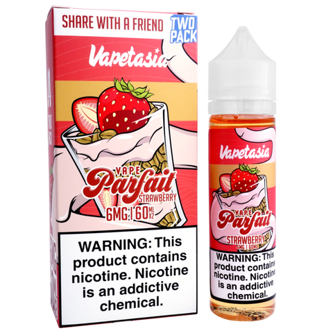 Vapetasia Strawberry Parfait  60ml - Vaporello.com