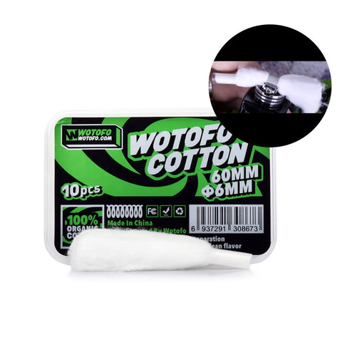 Wotofo Organic Cotton 6mm
