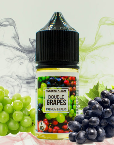 Vaporello Juice DOUBLE GRAPES 50VG /50PG 30ML - Vaporello.com