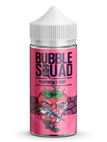 Bubble Squad Raspberry Shot 100ml-E - liquid-Vaporello.com