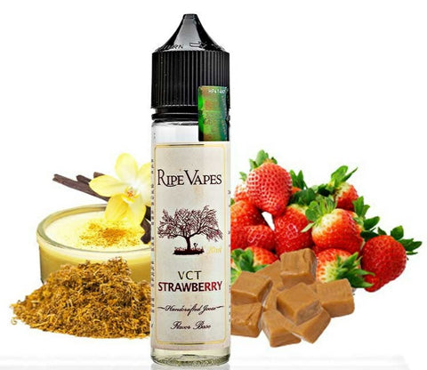 Ripe Vapes VCT Strawberry 60ml