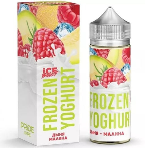 New FROZEN YOGHURT Melon Raspberry 120ml - Vaporello.com