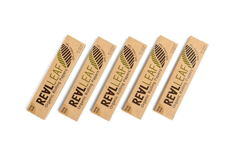 REALLEAF Organic Rolling Papers + 30%Cotton Tips
