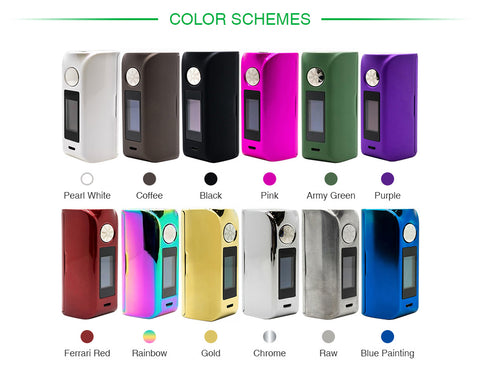 Asmodus Minikin V2 180W Touch Screen TC MOD-BATTERY & MOD-Vaporello.com