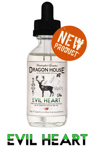 DRAGON HOUSE Evil Heart 60ml - Vaporello.com