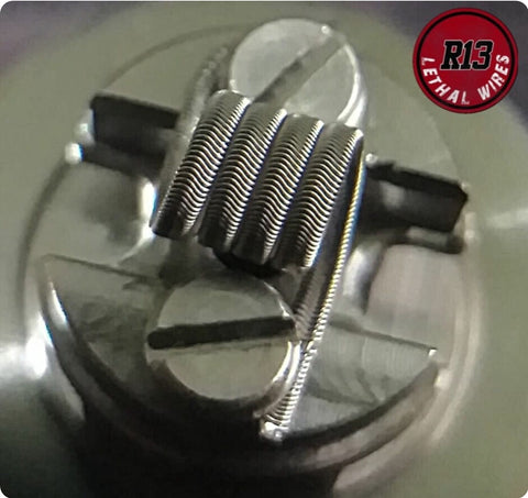 Handmade Philippines Alian MTL Coils (5wrp/2.5mm/0.65 ohm single) - Vaporello.com