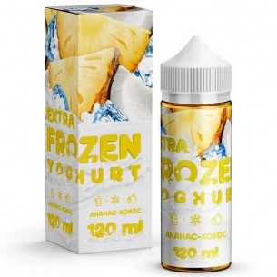 EXTRA FROZEN YOGHURT Pineapple Coconut 120ml-E - liquid-Vaporello.com