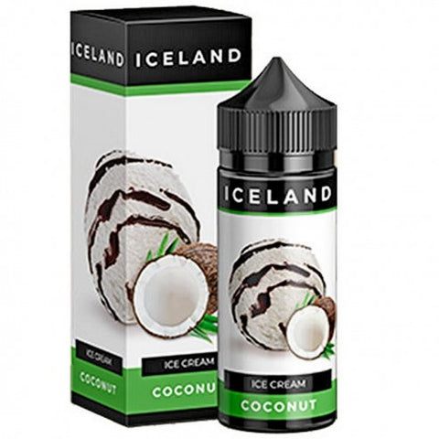 ICELAND Ice cream Coconut 120ml - Vaporello.com