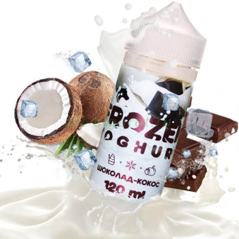 FROZEN YOGHURT Chocolate-Coconut 120ml-E-JUICE-Vaporello.com
