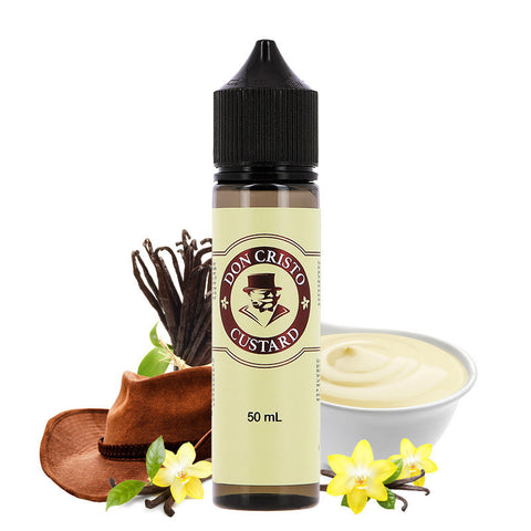 Don Cristo Custard 50ml - Vaporello.com