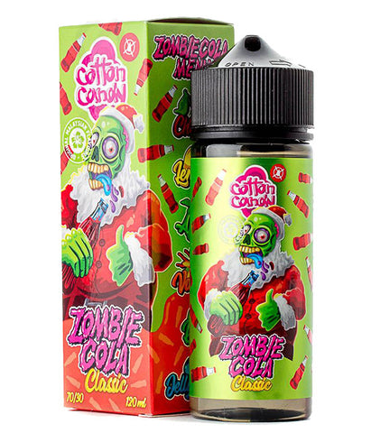 Cotton Candy Zombie Cola Classic 120mg