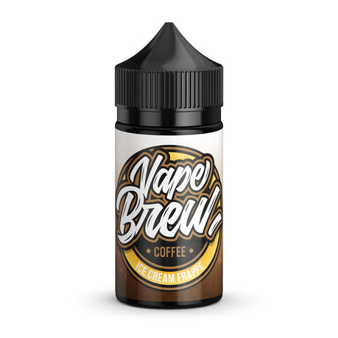 Vape Brew Coffee Ice Cream Frappe  80ml - Vaporello.com
