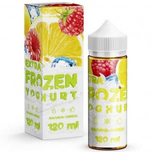 EXTRA FROZEN YOGHURT Raspberry Lemon 120ml-E-JUICE-Vaporello.com
