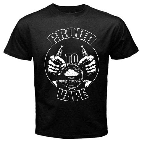 Proud Vape Cotton Men's T-Shirt-Vape Fashion-Vaporello.com