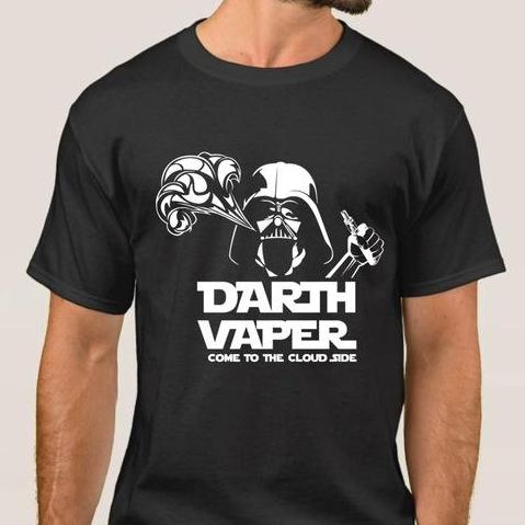 DARTH VAPER Cotton Men's T-Shirt-Vape Fashion-Vaporello.com