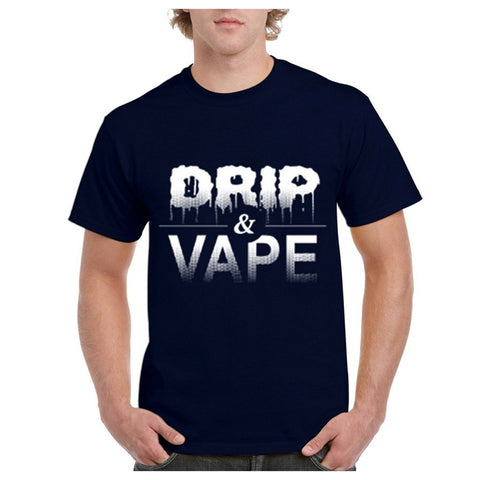 Drip and Vape Men's Short-Sleeve T Shirt-Vape Fashion-Vaporello.com