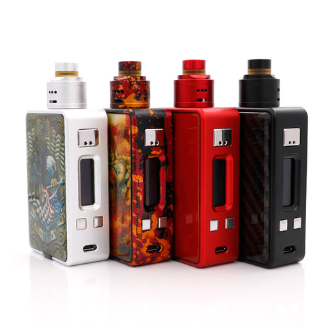HCIgar VT 75w inbox Squonker kit with Evolv DNA75 chip - IsraelVape