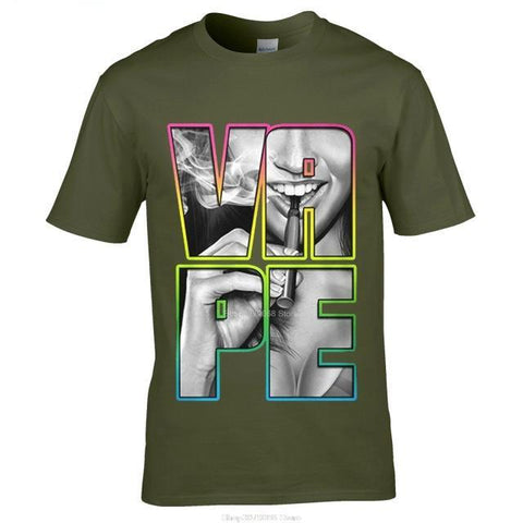 Vaping Cotton Men's T-Shirt - Vaporello.com