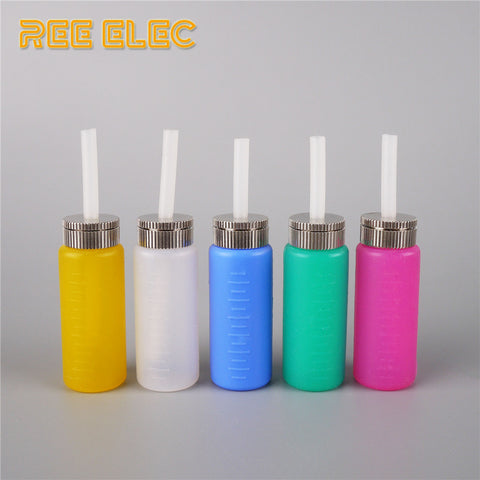 REE ELEC 6ml Silicon + Stainless Steel Bottom / Feed Bottle - Vaporello.com