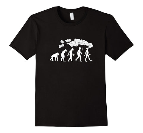Vape Evolution Cotton Men's T-Shirt-Vape Fashion-Vaporello.com