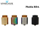 Vandy Vape Phobia 24 RDA Support Single and Dual Coil - IsraelVape