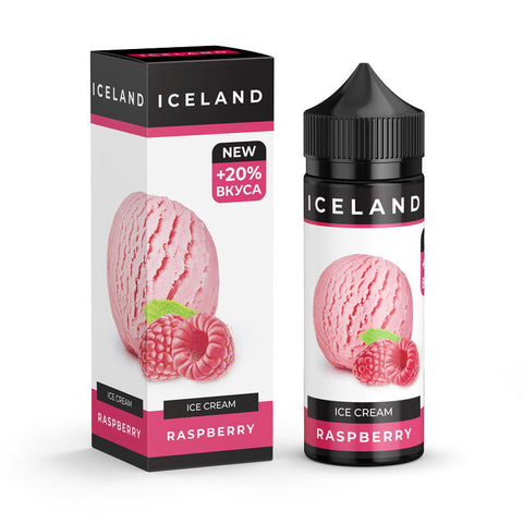 ICELAND Ice cream  Raspberry 120ml