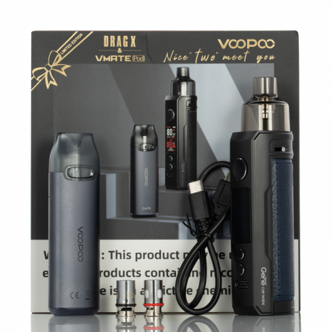 VOOPOO DRAG S & VMATE HOLIDAY KIT