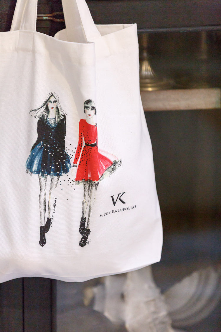 Fashion Tote Bag, YSL Rock Chicks