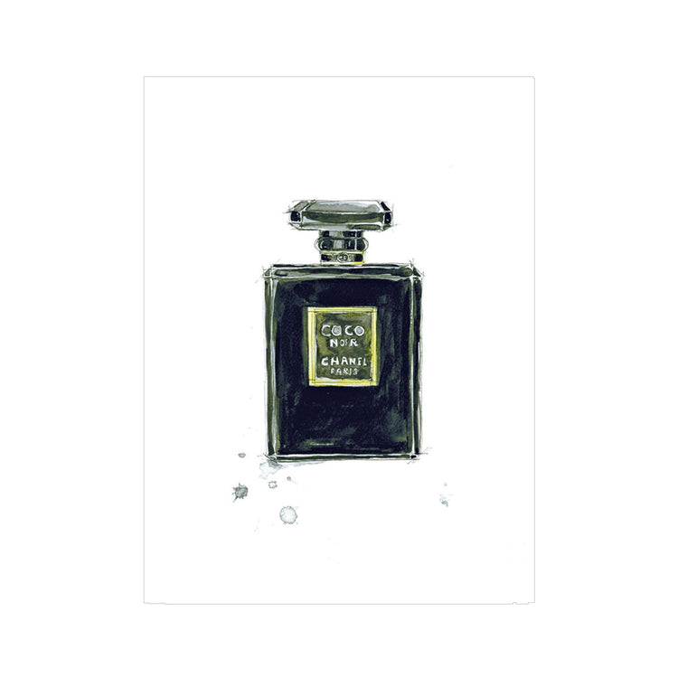 Chanel Coco Noir Greeting Card