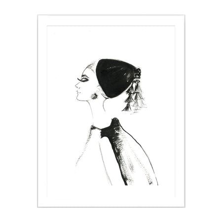 Audrey Limited Edition Print