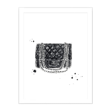 Chanel Bag Limited Edition Print