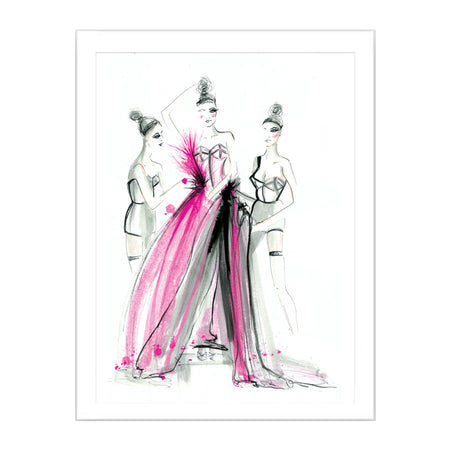 Couture Dress Fitting Limited Edition Print