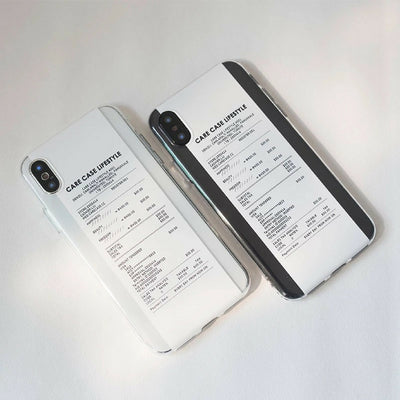 iPhone Case - Receipt Lifestyle - MonstaCase
