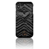 Designer Velour Heart Shape iPhone Cases - MonstaCase
