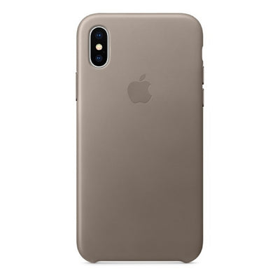iPhone Case - Leather Series Taupe - MonstaCase