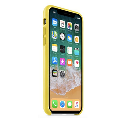 iPhone Case - Leather Series Spring Yellow - MonstaCase