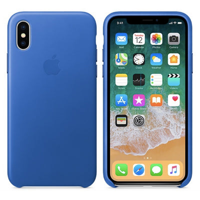 iPhone Case - Silicone Case Electric Blue - MonstaCase