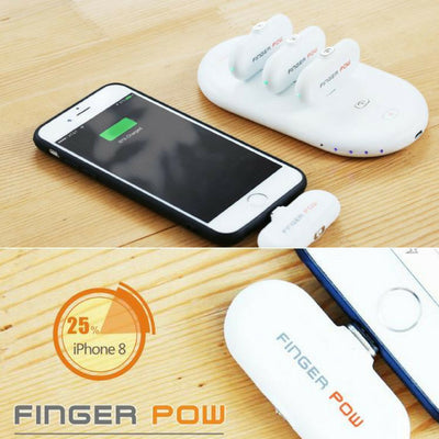 Finger Pow - Magnetic Phone Charger
