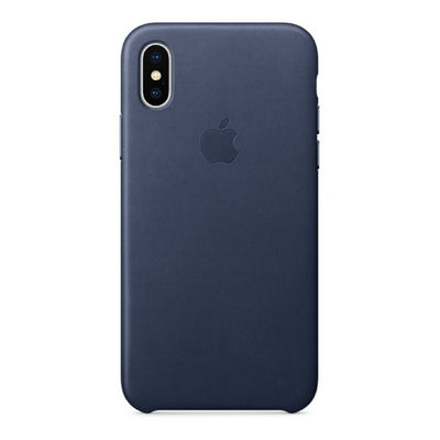 iPhone Case - Leather Series Midnight Blue - MonstaCase