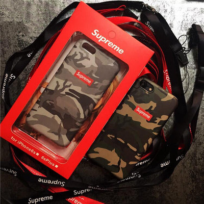 Designer Army Camo iPhone Case - MonstaCase