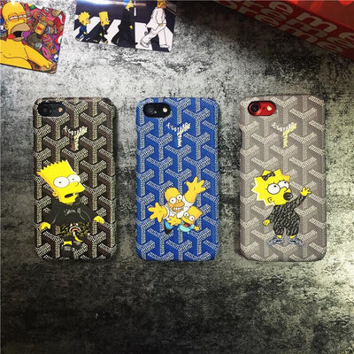 GYRD X Simpsons Family iPhone Case - MonstaCase
