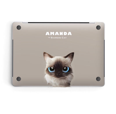 MacBook Decal - Cat Edition AMANDA - MonstaCase