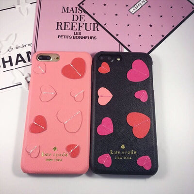 Designer Heart Stamp iPhone Case - MonstaCase