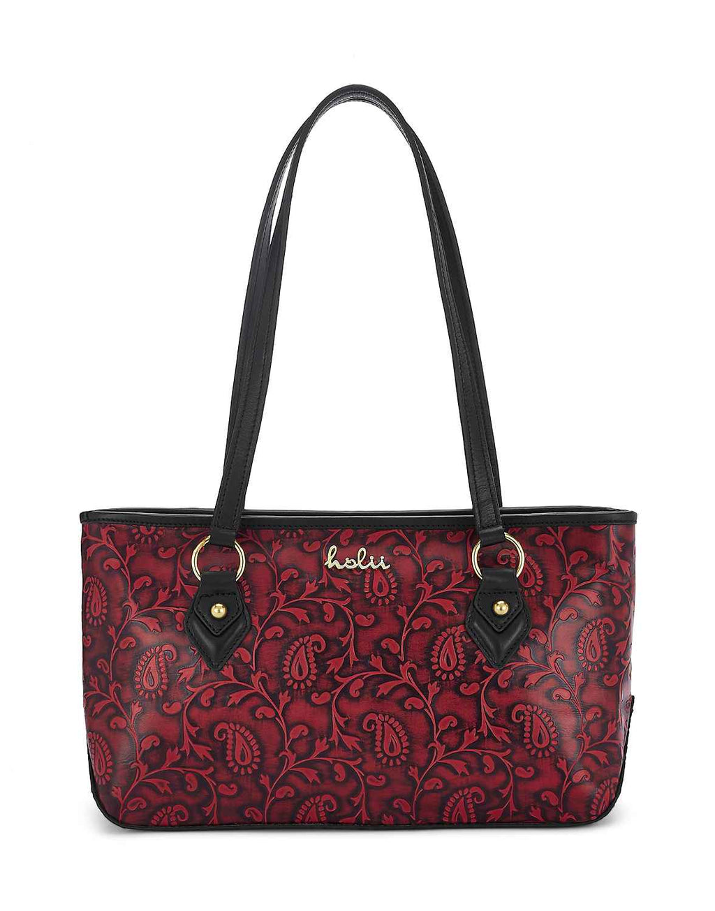 Haida Leather Tote
