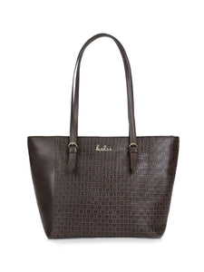 Lorrie Brown Leather Tote