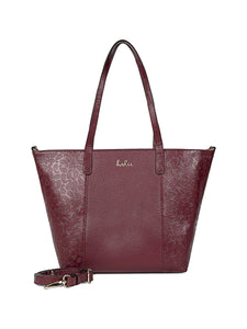 Faye Leather Tote bag