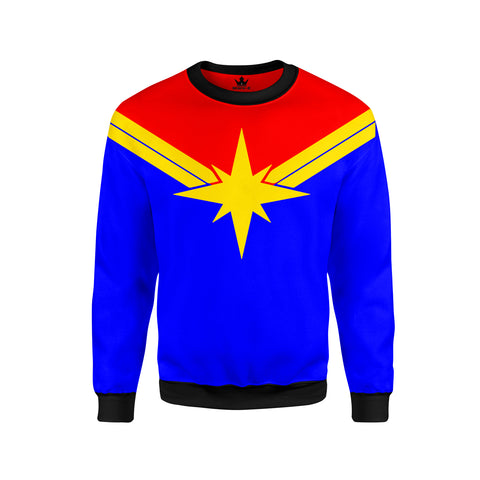 Felpa Captain Marvel